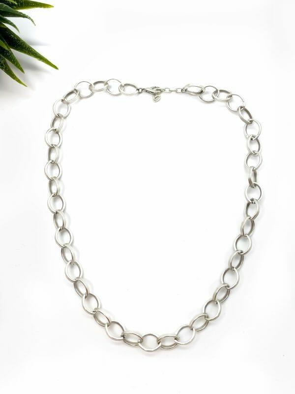 Charm Gümüş zincir