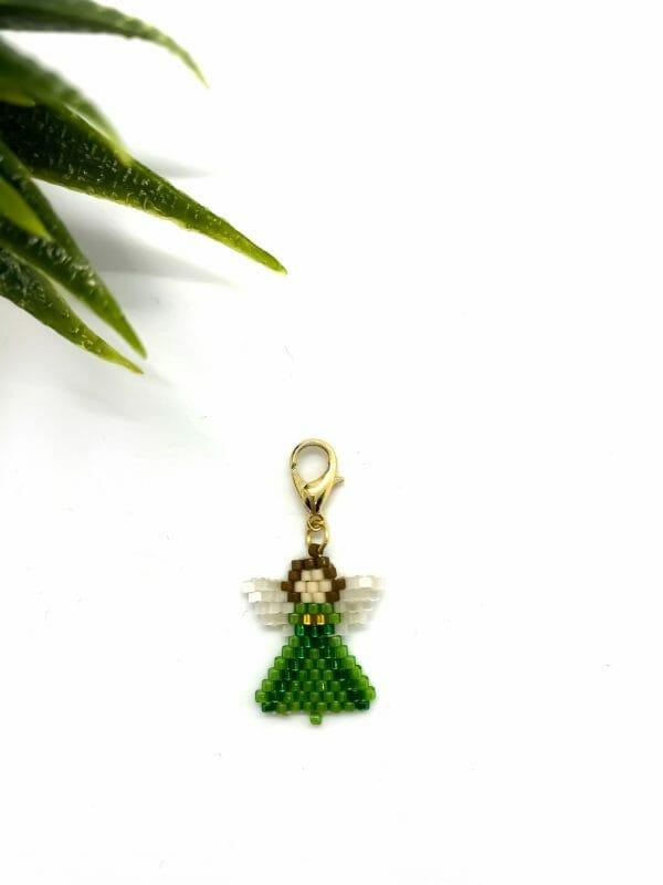 Charm Melek (yeşil)