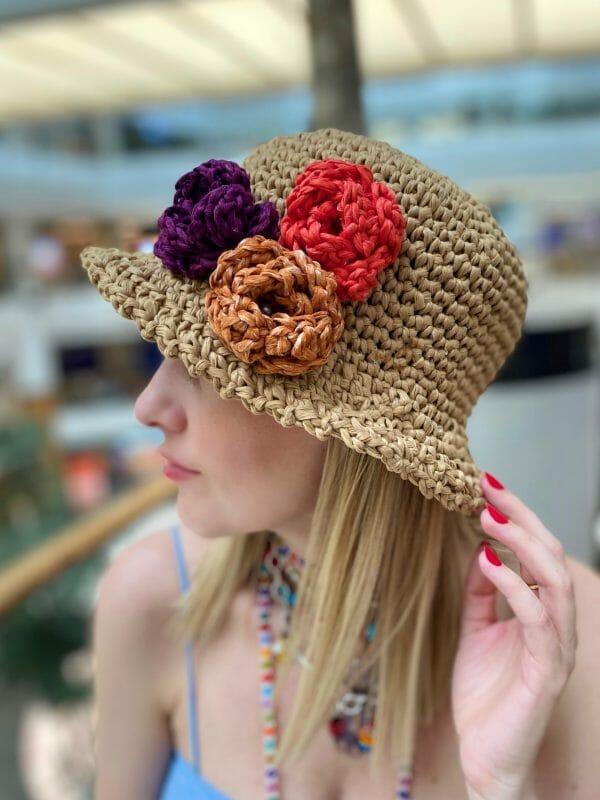 Ange Örgü Şapka