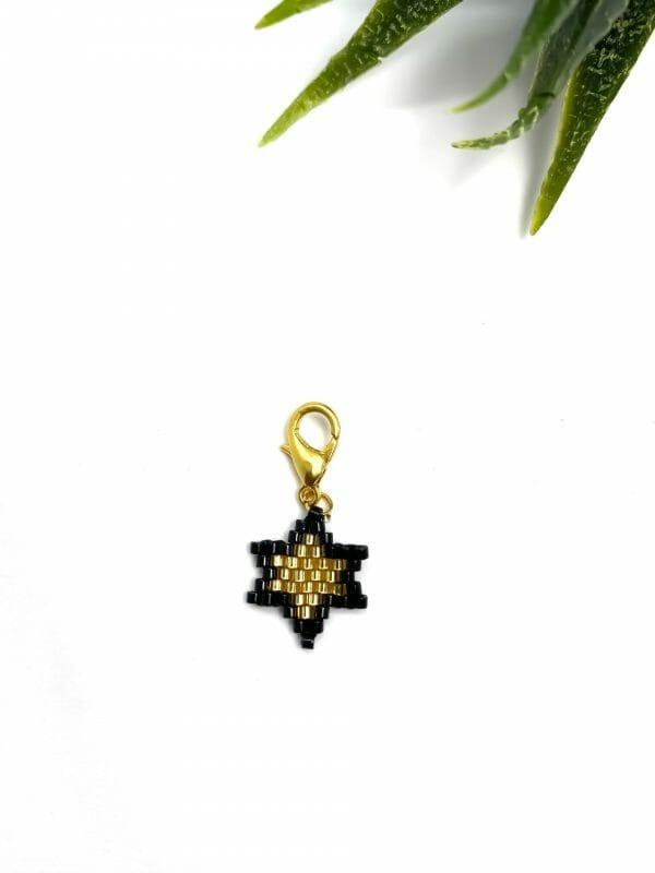 Charm Yıldız (siyah)