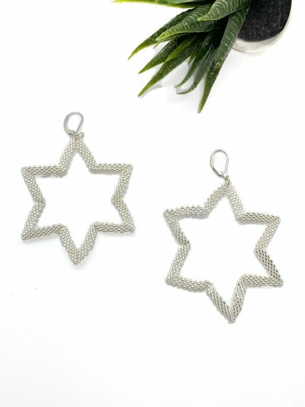 Yıldız Miyuki Küpe (gümüş)