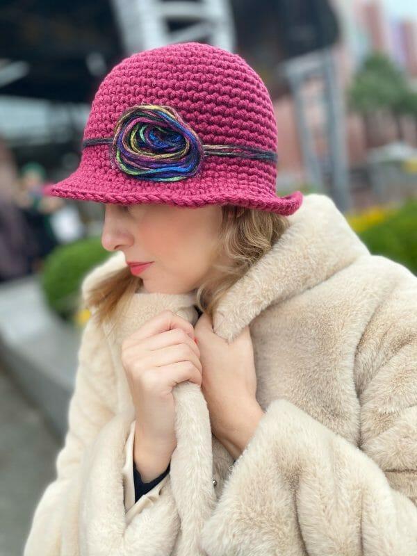 Carlotta Örgü Şapka