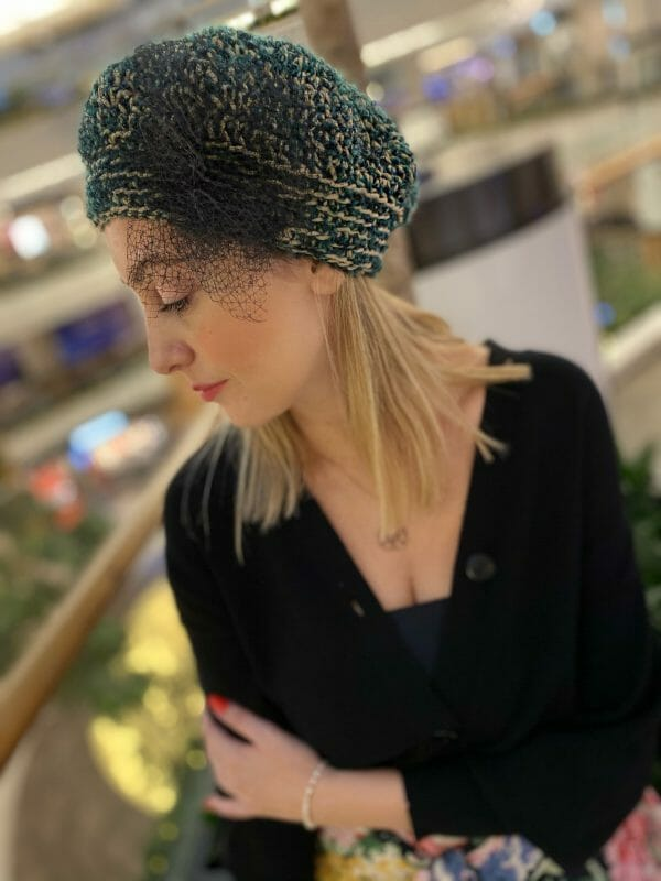 Acelina Örgü Şapka